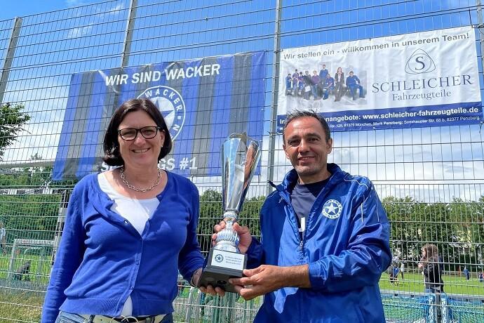 Sendlinger Cup 2021 makes footballer eyes light up